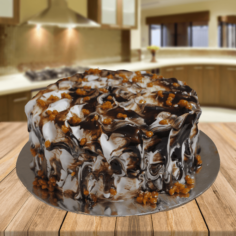 Nuts n Fudge cake