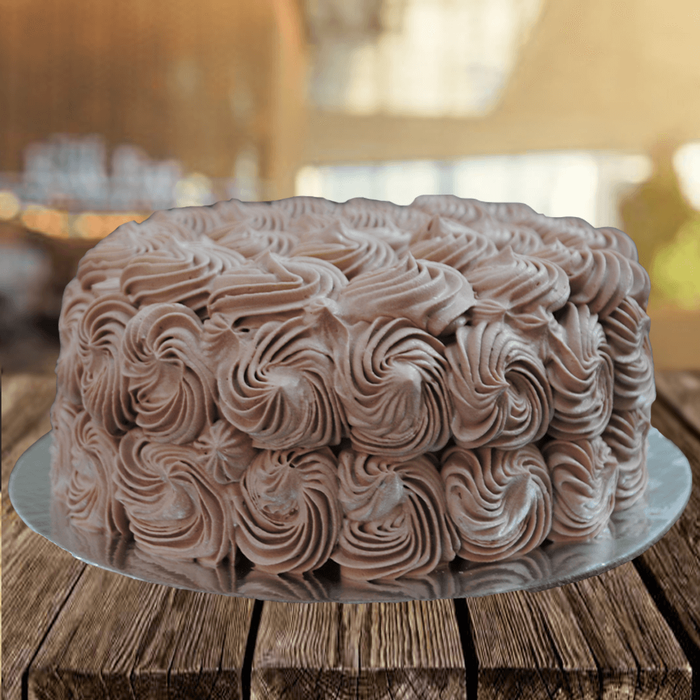 Rose Chocolate Cake